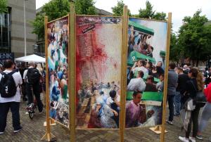 Srebrenica herdenking @ Het Plein