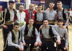 Bosnisch festival, Folkloregroep Hajr, Enschede