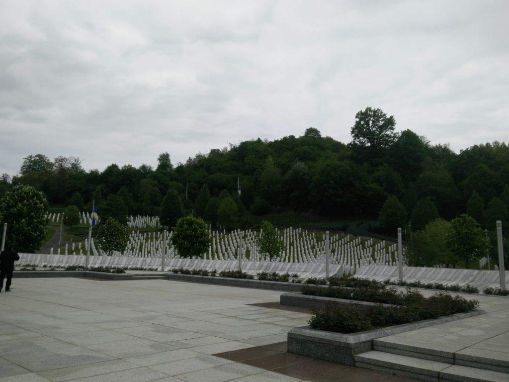 Begraafplaats Srebrenica